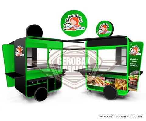 gerobak kebab umi lizan bandung